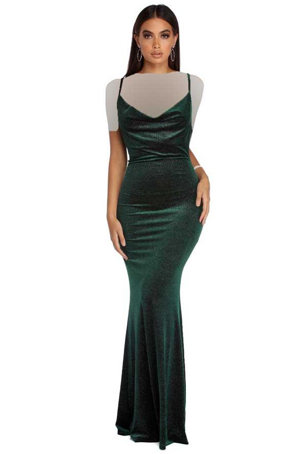 مدل لباس مجلسی دخترانه مخمل 2019