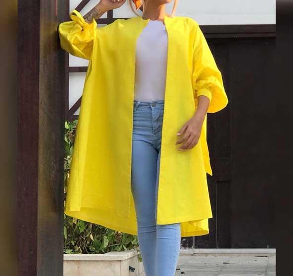 مدل مانتو کوتاه زنانه 2019