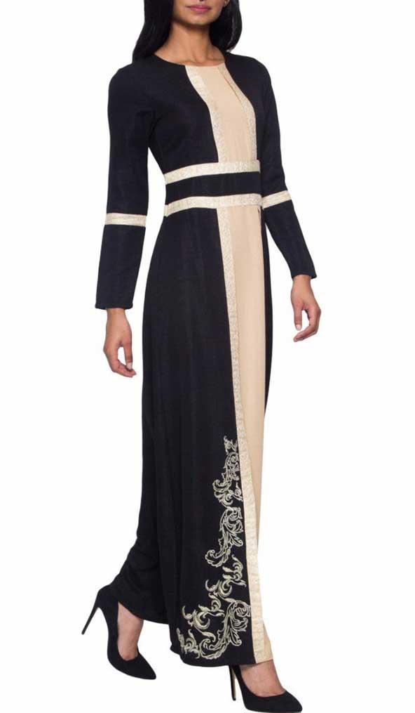 جدیدترین مدل لباس مجلسی پوشیده عربی