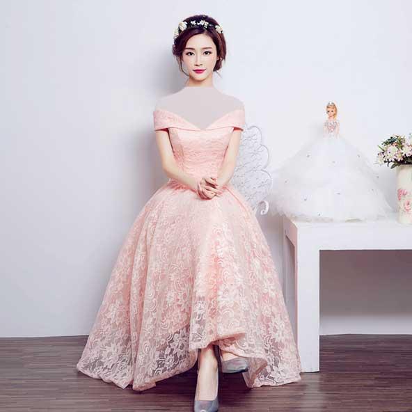 مدل لباس نامزدی شیک کره ای گیپور 2019