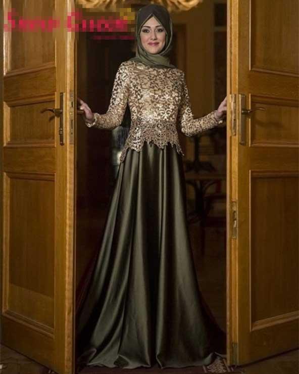 مدل لباس دو تیکه پوشیده مجلسی زنانه 2019