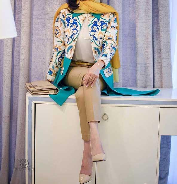 مدل مانتو مجلسی 2019 کوتاه دخترانه