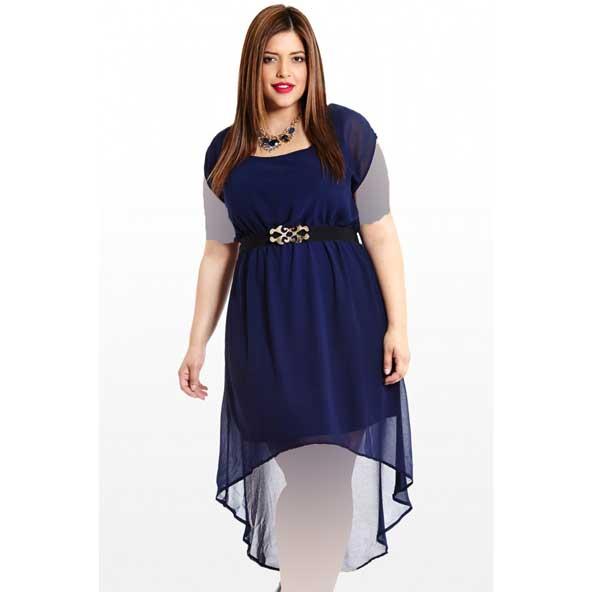 جدیدترین مدل لباس مجلسی چاق اینستاگرام