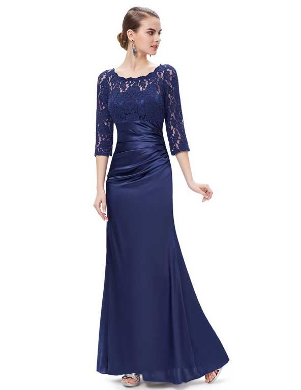 مدل لباس مجلسی آستین دار 2019 اینستاگرام