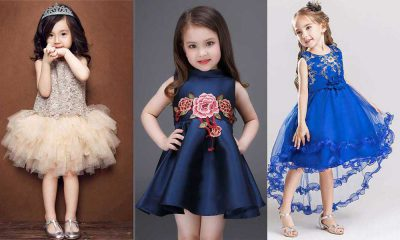 مدل لباس مجلسی بچه گانه دخترانه 2019