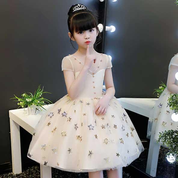 جدیدترین مدل لباس مجلسی کره ای دختر بچه 2019