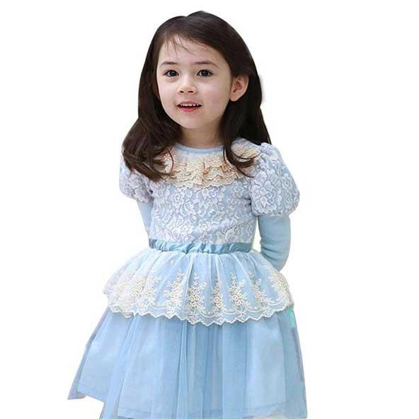 مدل جدید لباس مجلسی بچه گانه ترکی دختر بچه 2019