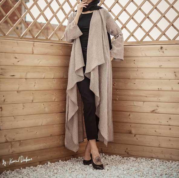مدل مانتو جلو باز اینستاگرامی 2019