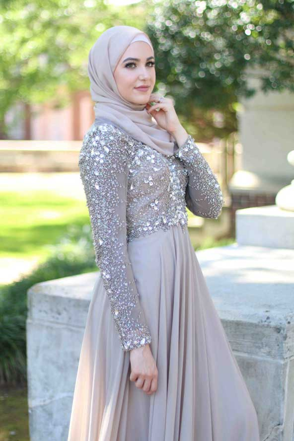 مدل لباس نامزدی اسلامی 98