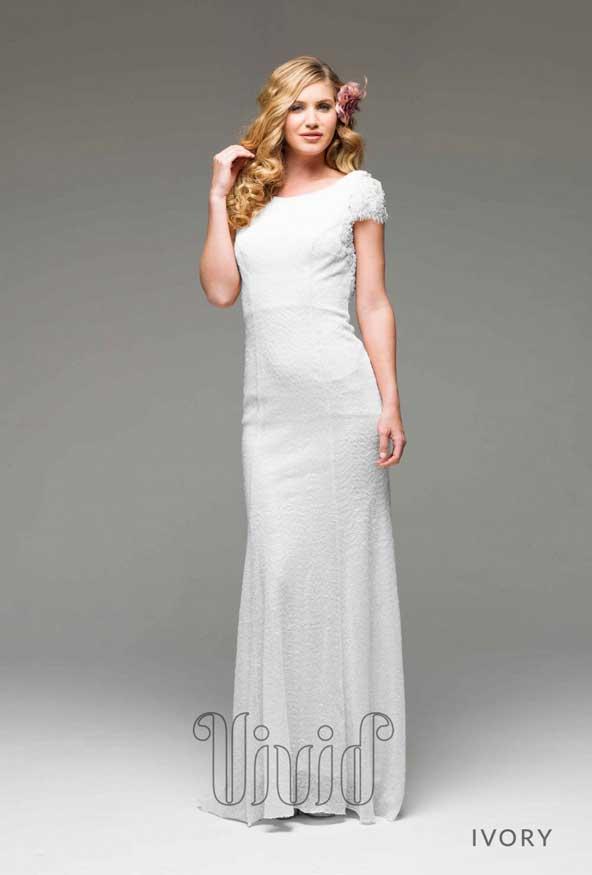 مدل لباس نامزدی سفید 2019