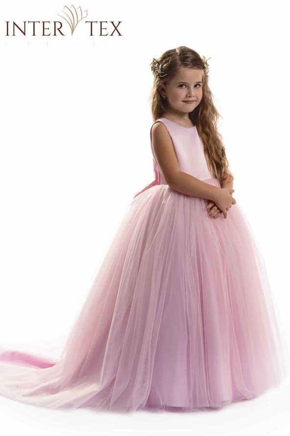 مدل لباس پفی مجلسی دختر بچه 98