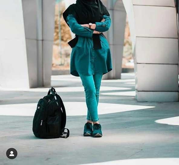مدل مانتو دانشجویی کوتاه 2019