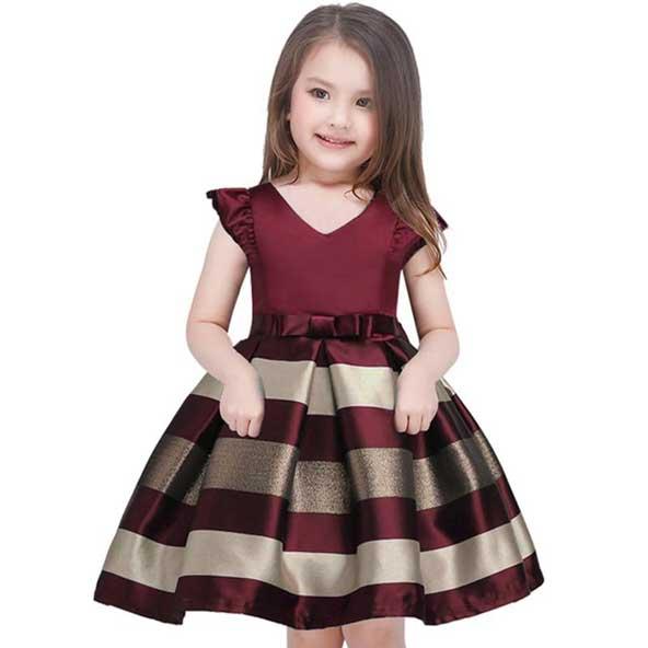 مدل لباس مجلسی اسپرت 2019 دختر بچه