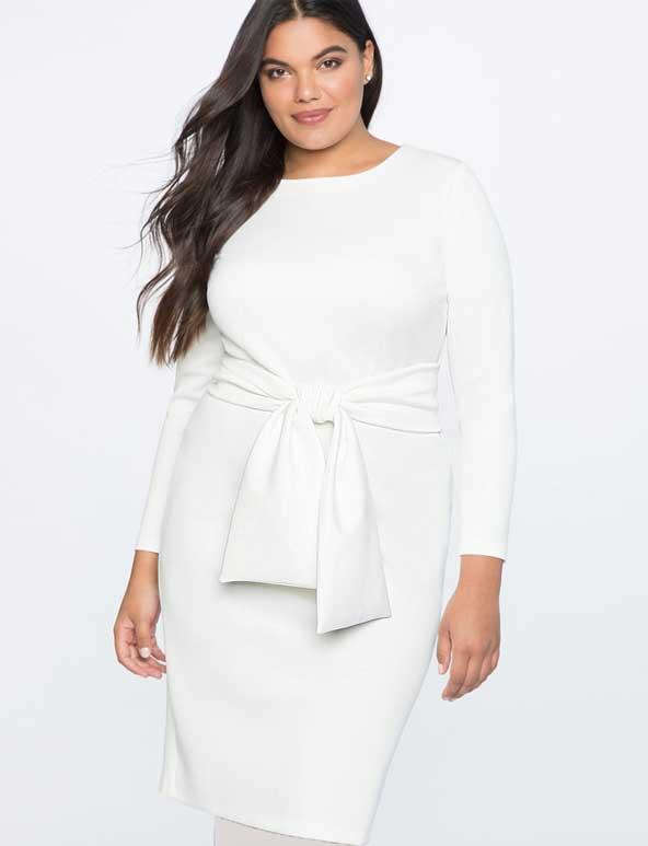 لباس کوتاه دخترانه 2019 سایز بزرگ مجلسی برای افراد چاق