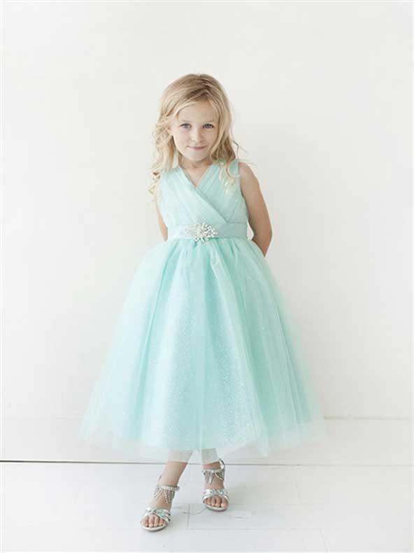 لباس مجلسی دختر بچه 98 با پارچه حریر