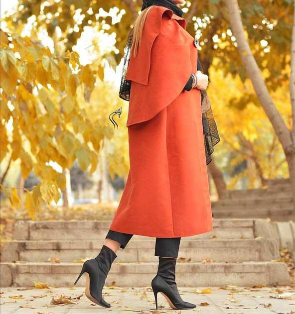 مدل مانتو رنگ سال 2019 اینستاگرام