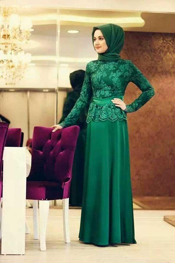 جدیدترین مدل های لباس مجلسی پوشیده 2019