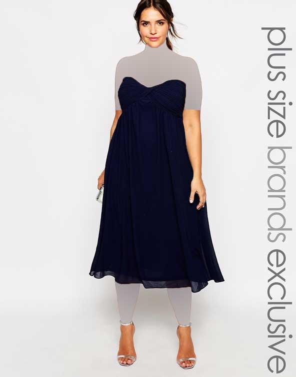 مدل لباس مجلسی ساده زنانه 2019 چاق