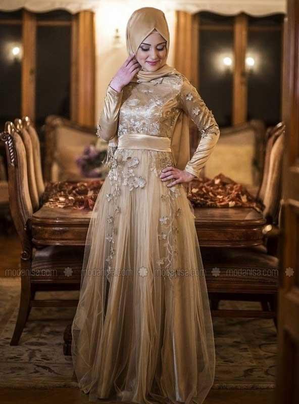 مدل لباس نامزدی پوشیده 2019