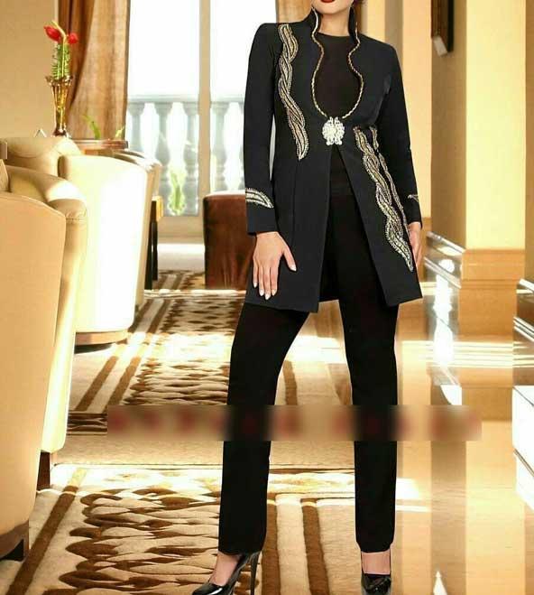 مدل مانتو مجلسی کوتاه دخترانه 2019