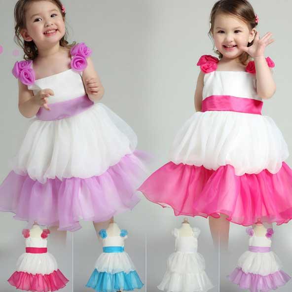 مدل های لباس مجلسی دختر بچه 2019