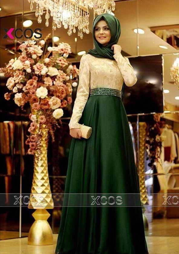 مدل لباس مجلسی پوشیده و با حجاب 2019 زنانه
