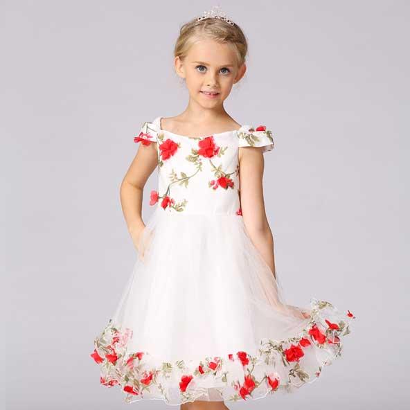 جدیدترین مدل لباس دختر بچه مجلسی اینستاگرام