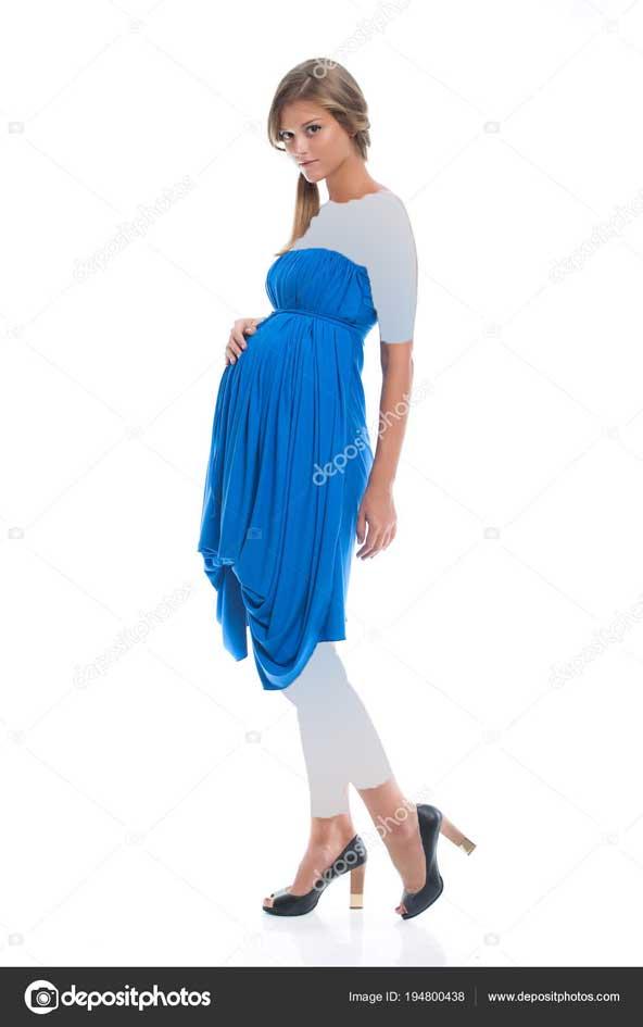 مدل لباس بارداری مجلسی حریر 2019