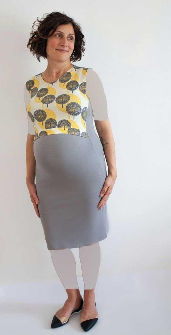 مدل لباس کوتاه بارداری 2019