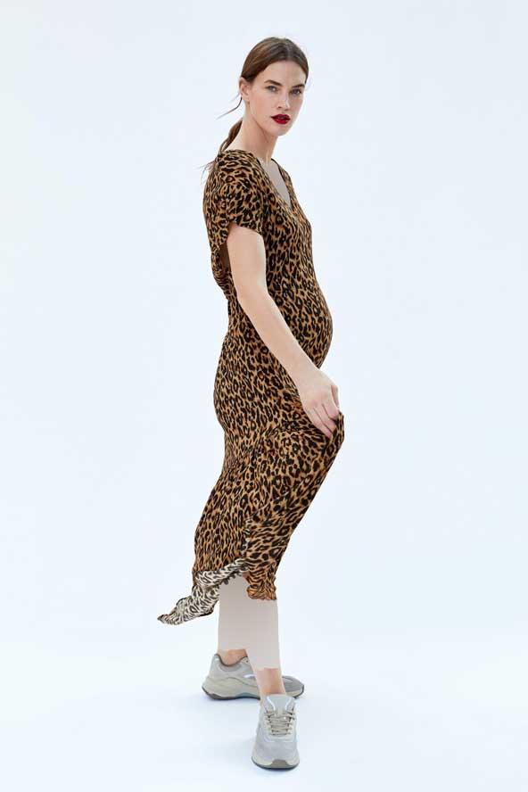 مدل لباس بارداری پلنگی 2019