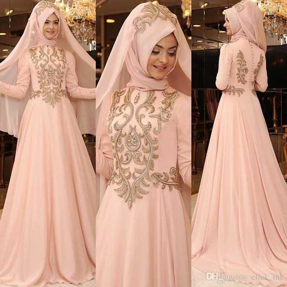 مدل لباس پوشیده 2019 مجلسی برای مراسم عقد