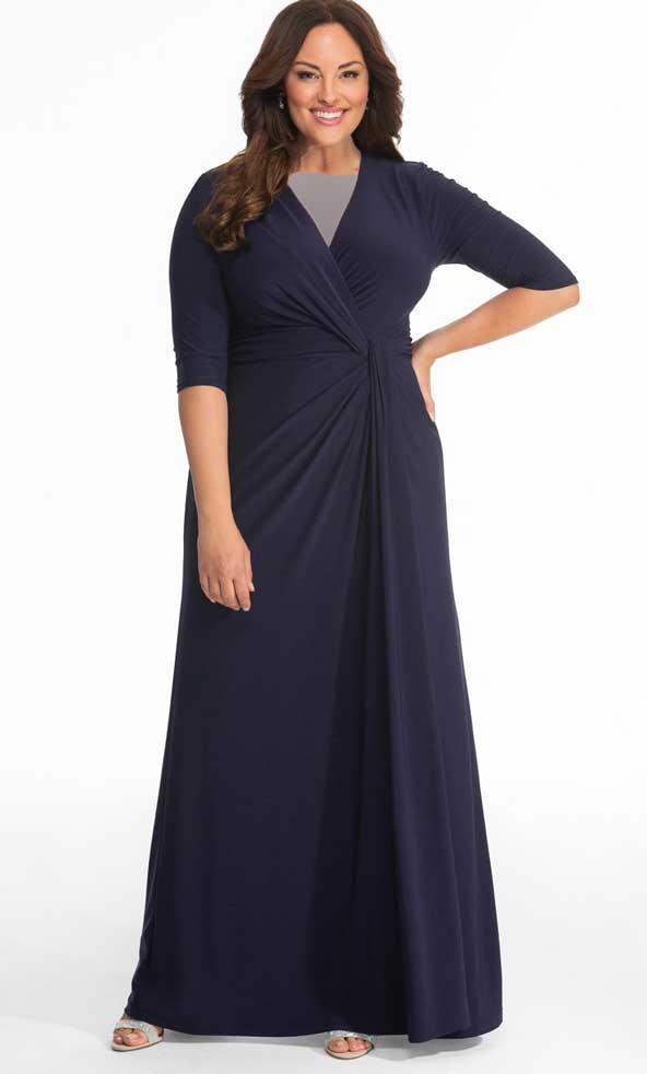 لباس مجلسی بلند مدل چاق 98 زنانه