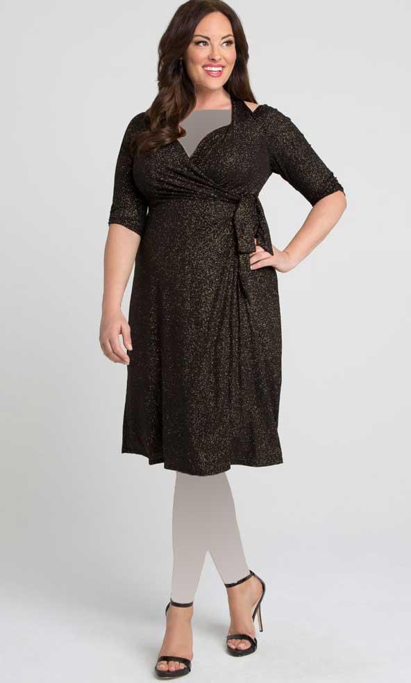 مدل جدید لباس مجلسی برای زنان خیلی چاق