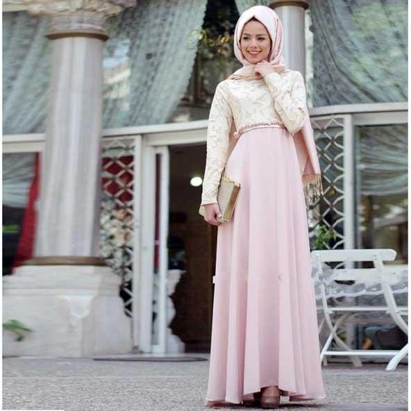 مدل لباس مجلسی پوشیده اسلامی 98