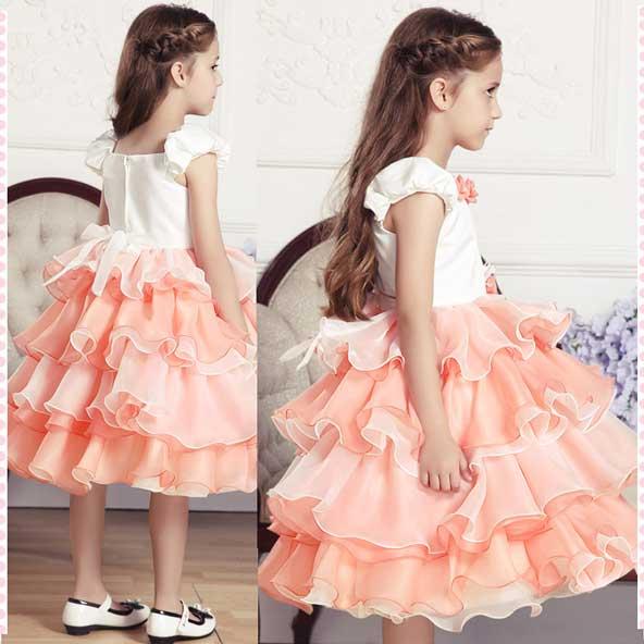 مدل لباس مجلسی بچه گانه دخترانه رنگ سال 2019