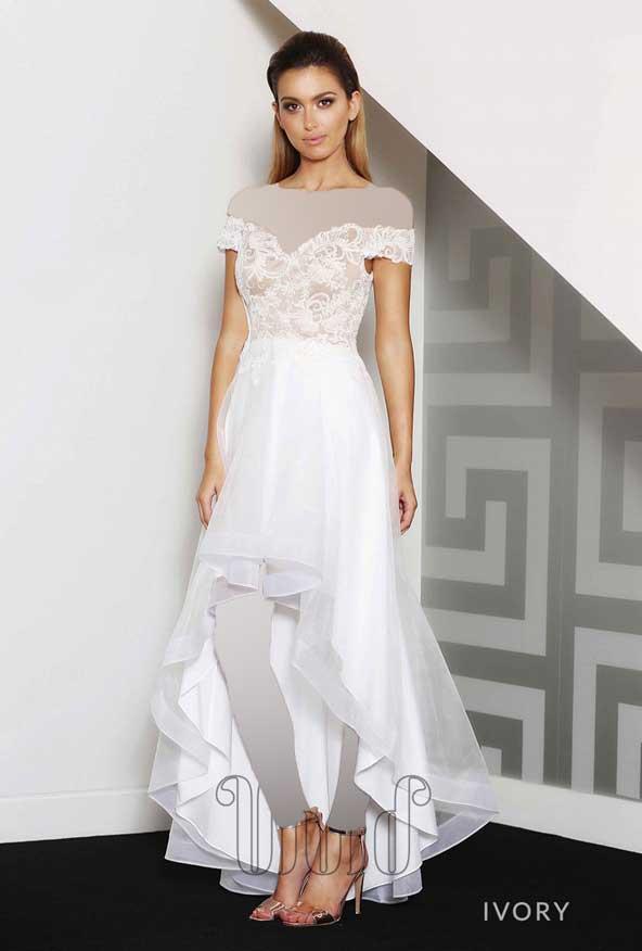 مدل لباس نامزدی تور و گیپور 98