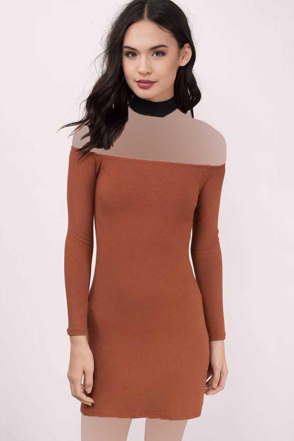 مدل جدید لباس مجلسی آستین دار در اینستاگرام