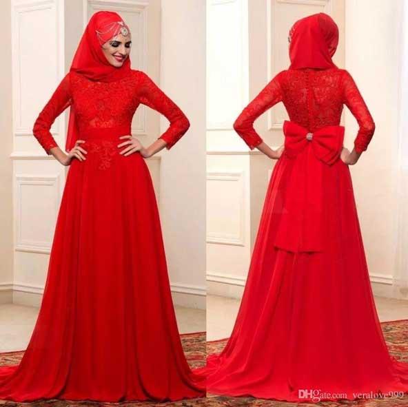 مدل لباس مجلسی کاملا پوشیده دخترانه 2019