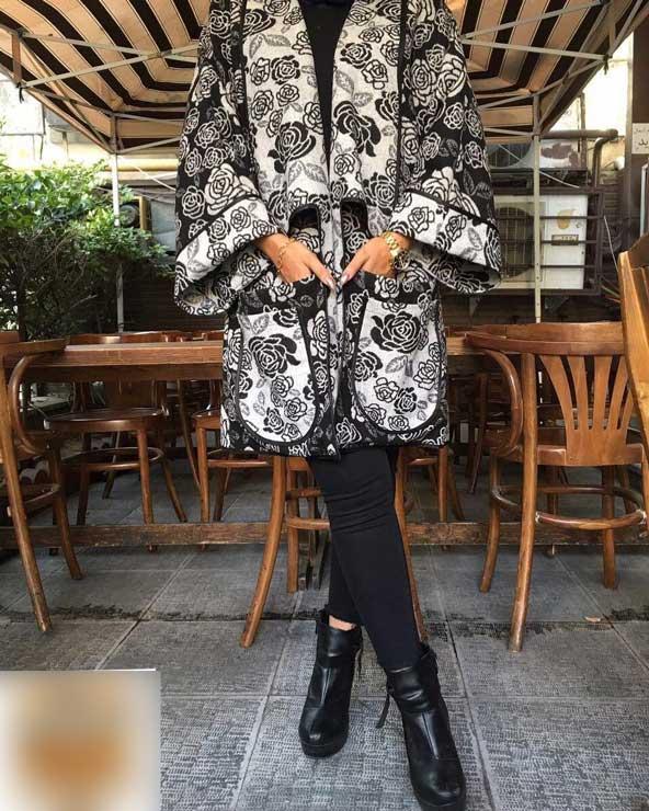 مدل مانتو گلدار 2019 بسیار شیک دخترانه