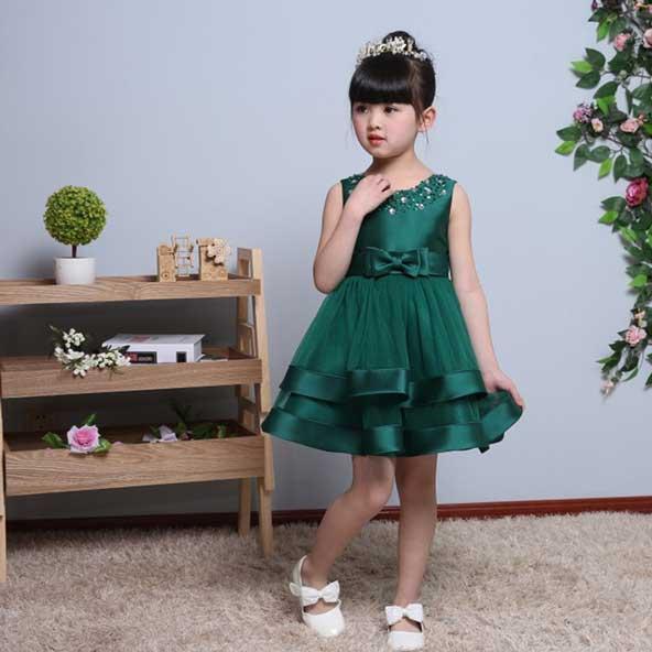 لباس کوتاه بچه گانه دخترانه مجلسی 98
