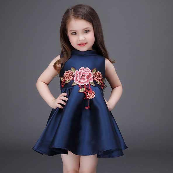 مدل لباس سرهمی مجلسی بچه گانه دخترانه 2019