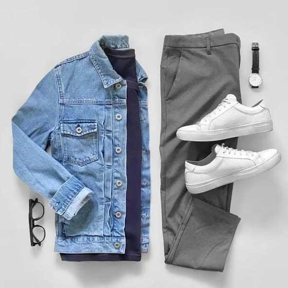 ست لباس مردانه با پیراهن لی 98