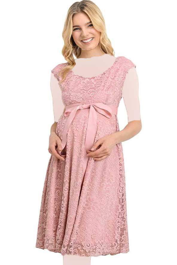 مدل لباس مجلسی بارداری 98