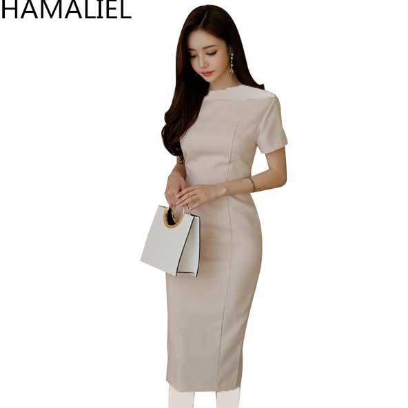 مدل لباس مجلسی ساده کره ای زنانه 2019