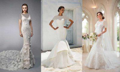 مدل لباس عروس ماهی 2019