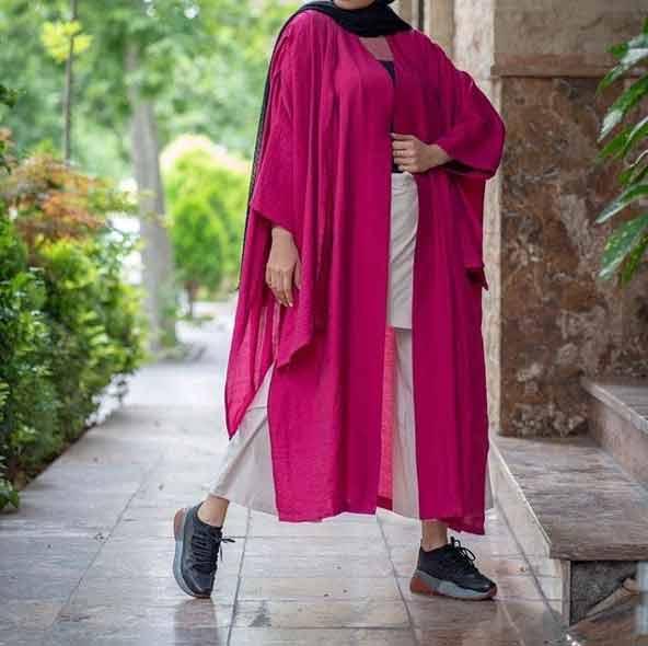 مدل مانتو لاکچری جلو باز تابستانی با طرح جدید 2019