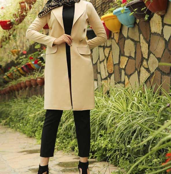 مدل مانتو کتی زنانه ساده 2019