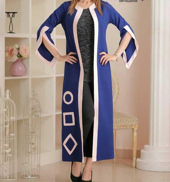 مدل مانتو کتی مجلسی جلو باز 2019
