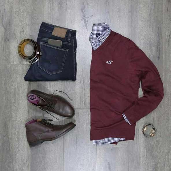 ست حرفه ای لباس مردانه برای پاییز 2019