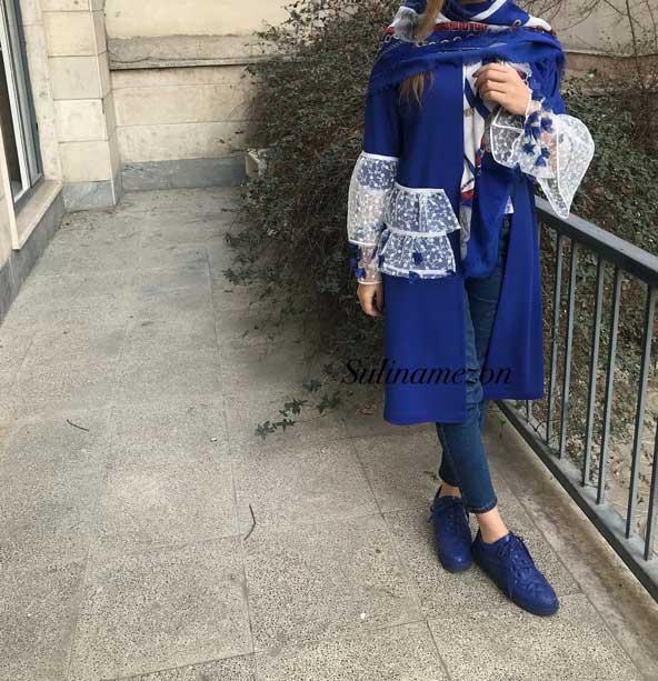 مدل مانتو عید 98 جدید دخترانه